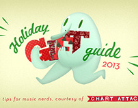 Holiday Gift Guide illustratation