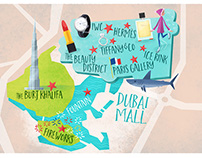 Dubai Shopping Festival - Maps