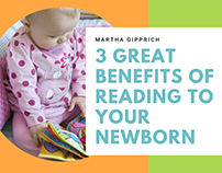 3 Great Benefits of Reading to Your Newborn
