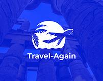 TravelAgain: Web Design & Branding