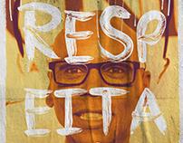 "Cartazes ""Respeita"""