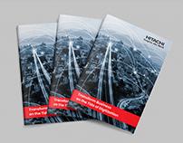 Hitachi Infographic Bio Fold Brochure