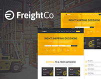 FreightCo | Transportation & Warehousing WP Theme