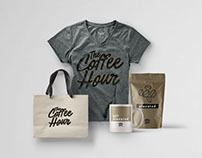 The Coffee Hour Branding