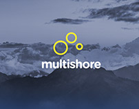 Multishore Company Concept Branding and Logo Design