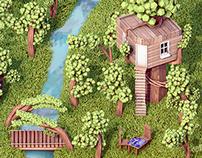 Isometric Treehouse