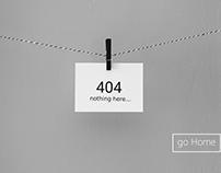 404 Page - #DailyUI #008