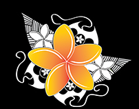 LOGO:  Frangipani Queen Designs, TI