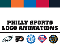 Logo Animations: Philadelphia Sports Teams