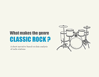 Classic Rock : A Narrative Data Visualization