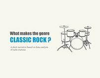 Classic Rock : A Narrative Data Visualization