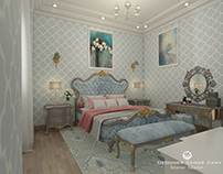 Classic Bed Room (Baby Blue)