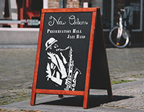 Jazz Poster - New Orleans