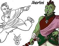 Character Design - antheawestart@hotmail.com