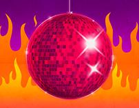 Disco Inferno Poster