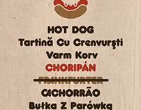 Choripán - revival typeface