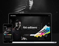 Adidas - F50 Adizero Microsite Concept