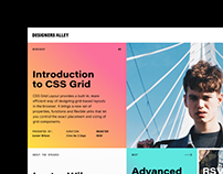 Designers Alley | Website