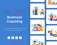 Business Coaching Illustrations
