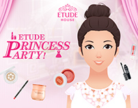 Etude House Princess Party App