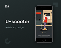 U-Scooter – Mobile App Design
