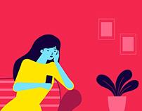 Dating app - Animation (still frames)