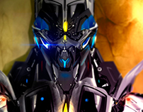 Digital Art - Robots