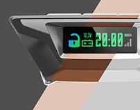 Car keychain alarm