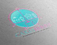 Cakes Berry logotype design