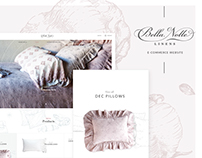 Bella Notte E-Commerce Website
