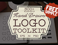 FREE VINTAGE HAND DRAWN LOGO TOOLKIT
