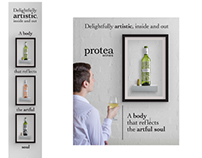 Protea wine advertising campaign (Student Assignment)