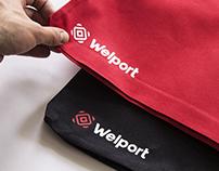 Welport. Branding.