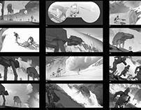 ILM Artcontest - Storyboards + Keyframe