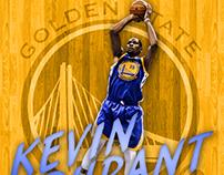 Kevin Durant Jersey Swap/Design-Warriors
