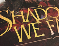 Design/Typography for In Shadows We Fall
