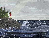 Rainy Day, Illustration Project