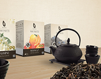 Reviva Teas: Packaging, Profile, Page and POSM