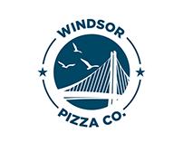 Windsor Pizza Co. Logo Design