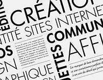 Wedesign - Portfolio for a graphic design agency