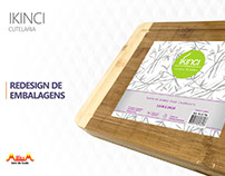 Redesign de Embalagens - Ikinci - Cutelaria