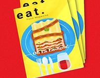 Mock Food Magazine Cover
