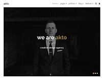 Akto - multipurpose HTML5 website template