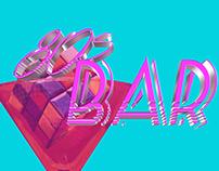 80's Bar Concept Logo