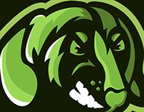 Dachshund Mascot Logo (sold)
