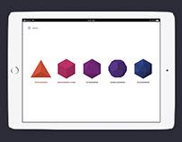 Metatron's Cube origami app