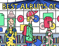 Best albums of 2015 for Staf Magazine