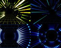 Neon Scene - VJ Loop Pack (4in1)