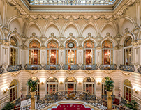 Interior Photography: Casino de Madrid
