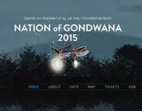 "Work for the 2015 ""Nation of Gondwana"" Festival"